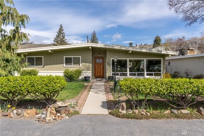 Chelan County Single Family Home For Sale: 423 Allen Ave E