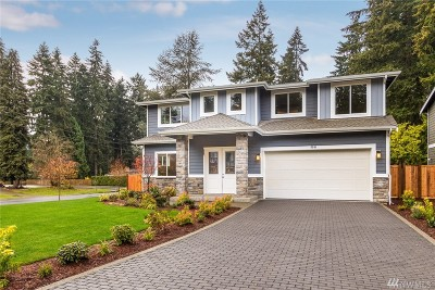 Kirkland Single Family Home For Sale: 6501 124th Ave NE