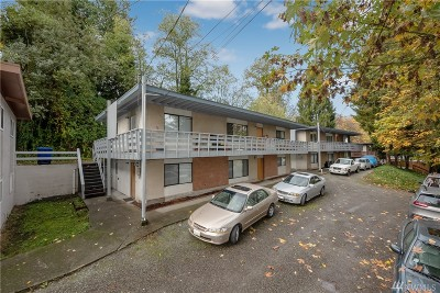 Seattle Multi Family Home For Sale: 10627 Aqua Wy S