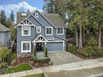Sammamish Single Family Home For Sale: 21733 SE 3rd Place