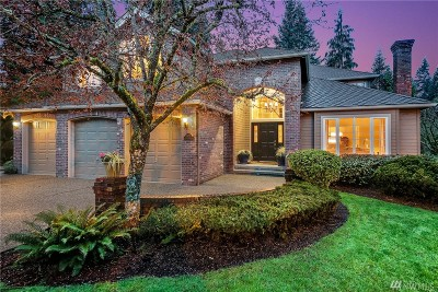 Redmond Single Family Home For Sale: 8623 217th Ave NE