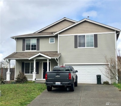 Yelm Single Family Home Pending Inspection: 10021 Tahoma Ct SE