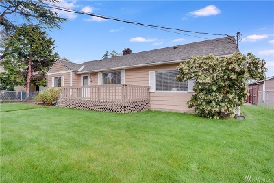 Burien Single Family Home For Sale: 619 SW 136th Place