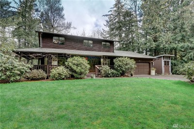 Buckley Single Family Home For Sale: 8409 272nd Av Ct E