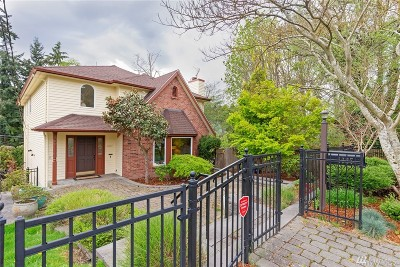Seattle Single Family Home For Sale: 4027 35th Ave W