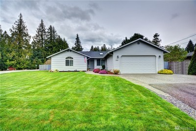 Stanwood Single Family Home For Sale: 7806 S Lake Ketchum Rd