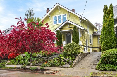 Seattle Single Family Home For Sale: 3328 37th Ave S