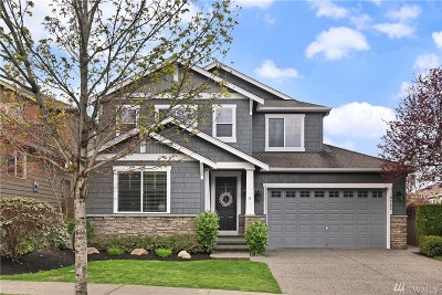 Snoqualmie Single Family Home Contingent: 6725 Denny Peak Dr SE