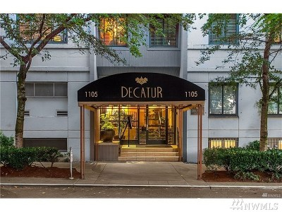 Seattle Condo/Townhouse For Sale: 1105 Spring St #509