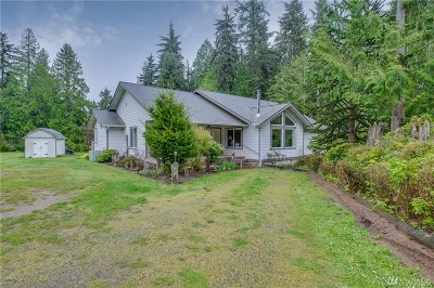 Port Ludlow Single Family Home For Sale: 3863 Paradise Bay Rd