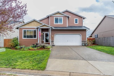 Yelm Single Family Home Pending Inspection: 16566 Rainier View Dr SE