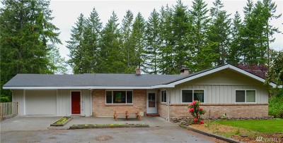Silverdale Single Family Home For Sale: 13685 Olympic View Rd NW