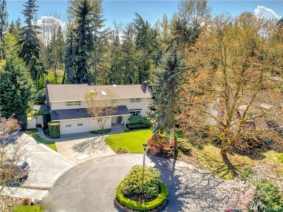 Medina Single Family Home For Sale: 2614 Evergreen Point Rd