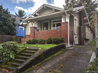 Seattle Single Family Home For Sale: 121 NE 56th St