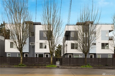 Seattle Single Family Home For Sale: 809 S Cloverdale St