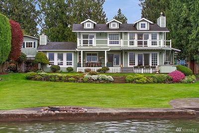 Pierce County Single Family Home Pending Inspection: 21608 Snag Island Dr E