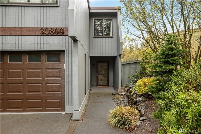 Federal Way Condo/Townhouse For Sale: 30809 13th Place S #24