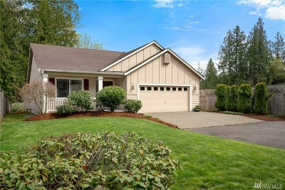 Olympia Single Family Home For Sale: 2916 Westside Dr NW