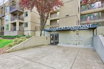 Seattle Condo/Townhouse For Sale: 7323 Sand Point Wy NE #106