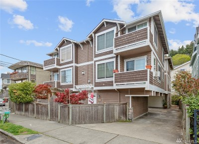 Seattle Single Family Home For Sale: 4156 Beach Dr SW #B