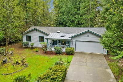 Poulsbo Single Family Home Pending Inspection: 11049 Ogle Rd NE