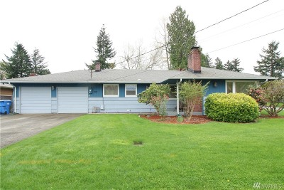 Tumwater Single Family Home For Sale: 323 V St SW