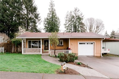 Montesano Single Family Home For Sale: 606 N 3rd