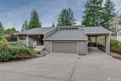 Poulsbo Single Family Home Pending Inspection: 18315 11th Ave NE
