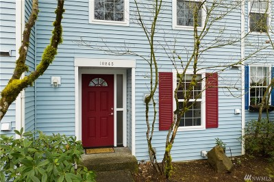 Kirkland Condo/Townhouse For Sale: 10245 NE 129th Lane