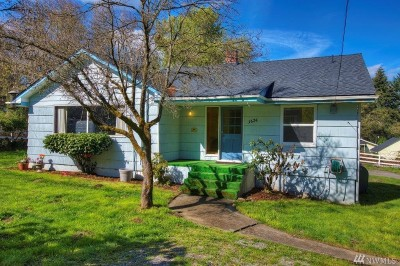 Single Family Home For Sale: 3624 E R St