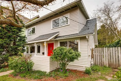 Seattle Single Family Home For Sale: 408 73rd St