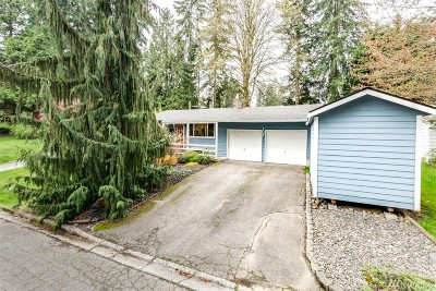 Bothell Single Family Home For Sale: 21904 4th Place W