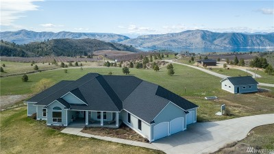 Chelan County Single Family Home For Sale: 615 Chelan Trails Rd
