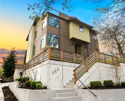 Seattle Single Family Home For Sale: 725 N 63rd St