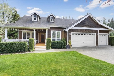 Gig Harbor Single Family Home For Sale: 8311 83rd St Ct NW
