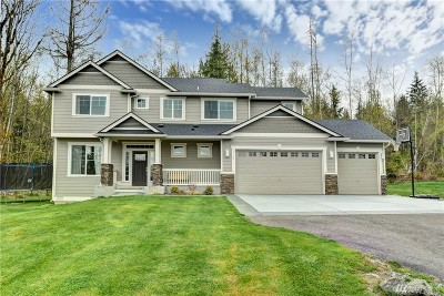 Snohomish Single Family Home For Sale: 18403 33rd Place NE