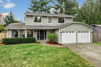 Bellevue WA Single Family Home For Sale: $880,000