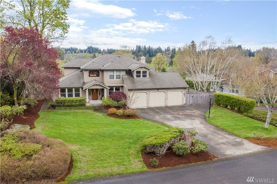 Tumwater Single Family Home Pending: 1023 Surrey Trace SE