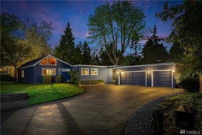 Mercer Island WA Single Family Home For Sale: $1,489,000