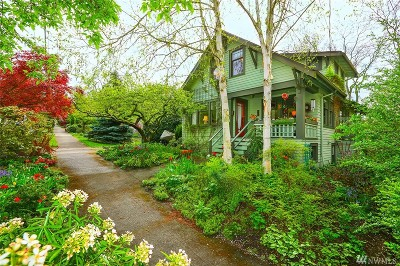 Seattle Single Family Home For Sale: 2717 NE 53rd St