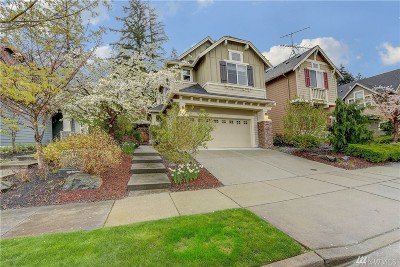 Bothell WA Single Family Home For Sale: $618,000