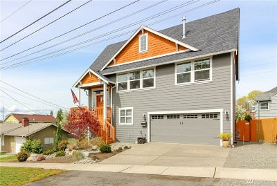 Tacoma Single Family Home For Sale: 5009 N 13th St
