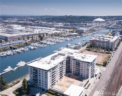 Tacoma Condo/Townhouse For Sale: 1515 Dock St #904
