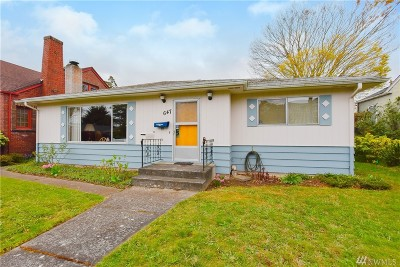Seattle Single Family Home For Sale: 647 NW 84th St