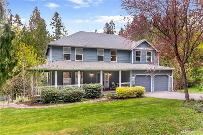 Poulsbo Single Family Home For Sale: 21776 Clear Creek Rd NW