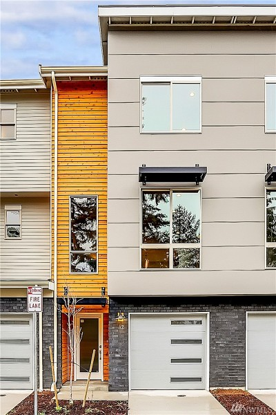 Edmonds Single Family Home For Sale: 7628 222nd St SW #B-3