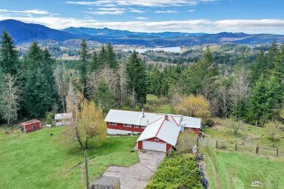 Eatonville Single Family Home For Sale: 14306 501st St E