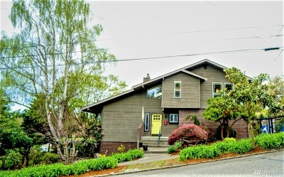 Fircrest Single Family Home For Sale: 610 Golden Gate Ave