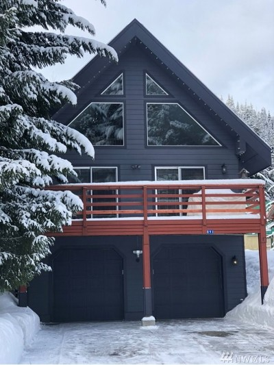 Snoqualmie Single Family Home For Sale: 891 Hyak Dr E