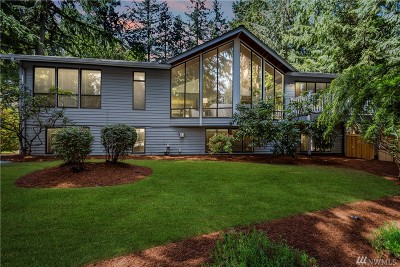 Sammamish Single Family Home For Sale: 2521 Sahalee Dr W
